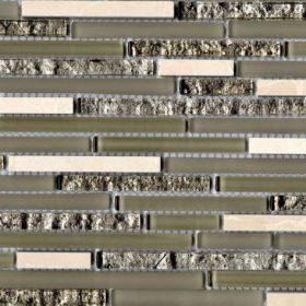 L'Antic Colonial Eternity mini strip cream 29,8×30,5cm mozaiek
