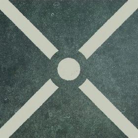 vtwonen Duostone Cross white buitentegel 60x60cm