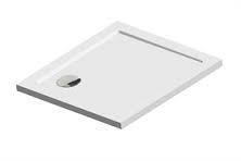 Sealskin Fusion vierkant douchebak inbouw 80x80cm wit