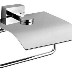 M-Style Ideal toiletrolhouder met klep 261851