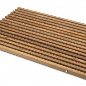 M-Style badmat teak hout 58,5x41cm
