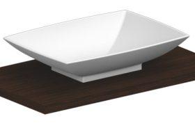 M-Style serie 600 opzetwastafel rechthoekig 63x46cm wit