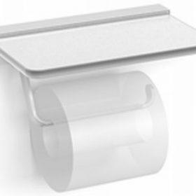 M-Style Univers closetrolhouder zonder klep met glazen planchet 64499