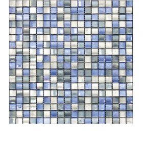 L'Antic colonial Arabia mix blue silver 29,5×29,5cm mozaïek