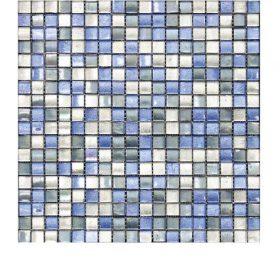 L'Antic colonial Arabia mix blue silver 29,5×29,5cm mozaïek