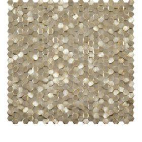 L'Antic Colonial Gravity aluminium 3D hexagon gold 30,4×30,4cm mozaïek 100240896