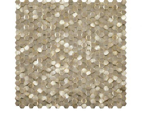 Mosaics_Metal_Mosaics_Gravity_Aluminium_3D_Hexagon_Gold_bigs