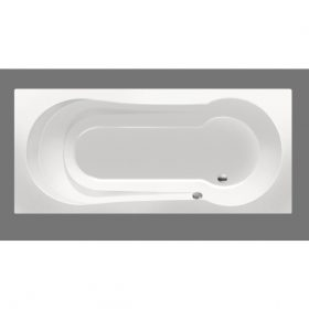 Xenz Barbados 180x80cm ligbad wit