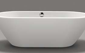 Xenz Rens vrijstaand bad wit