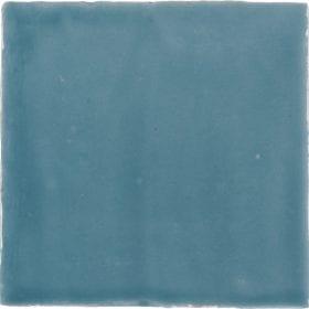 vtwonen Villa petrol blue glans 13x13cm wandtegel