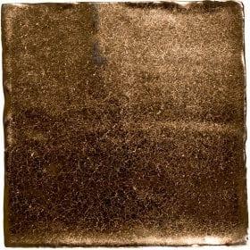 vtwonen Villa dark gold metallic 13x13cm wandtegel
