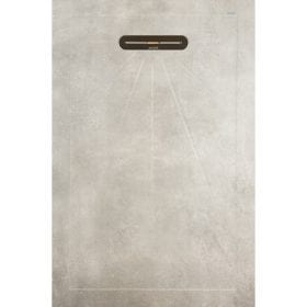 vtwonen Mold concrete 135x90cm keramische douchebak