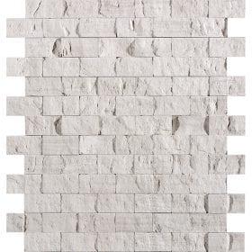 L'Antic colonial Elite brick silver wood 30x30cm mozaïek