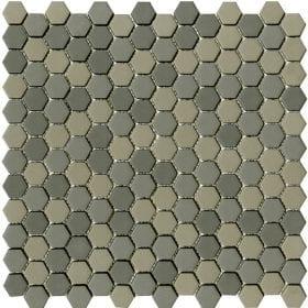 L'Antic colonial Glaze hexagon greys matt 30,2x30cm mozaïek