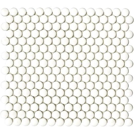 GLAZE DOTS WHITES MATT 31.5X29X0.6