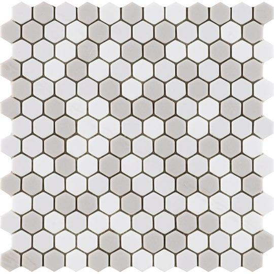 GLAZE HEXAGON BEIGES MATT 30.2X30X0.6