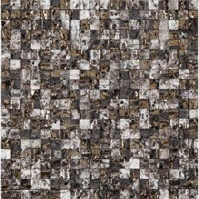L'Antic Colonial Elite lava stone mix gold white 30,1×30,1cm mozaïek