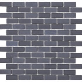 L'Antic colonial Glaze brick grey 32,2x30cm mozaïek