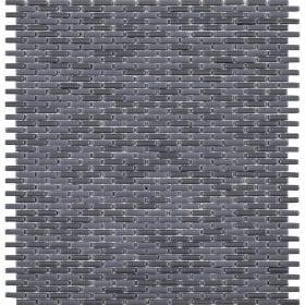 L'Antic colonial Glaze micro brick grey 28,4x30cm mozaïek