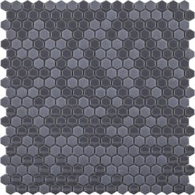 L'Antic colonial Glaze mini hexagon grey 29,5x30cm mozaïek