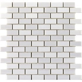 L'Antic colonial Glaze brick white 32,2x30cm mozaïek