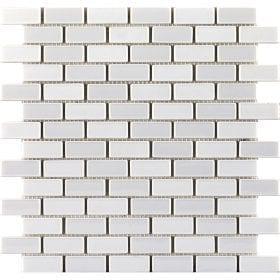 L'Antic colonial Glaze brick white 32,2x30cm mozaïek