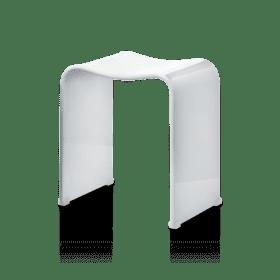 Decor Walther DW80 badkamer kruk wit