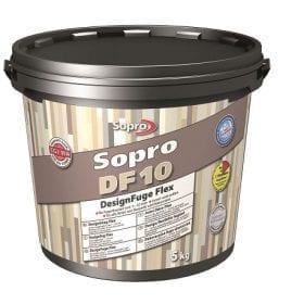 Sopro DF10 designvoeg flex zandgrijs (18) 5kg. emmer