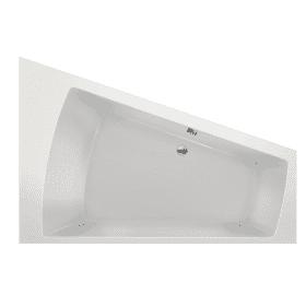 Xenz Palau ruimtebesparend ligbad wit rechtse uitvoering