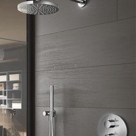 Hotbath IBS1ACR complete thermostatische inbouwset chroom