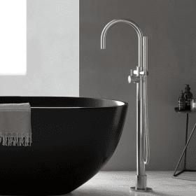 Hotbath Archie AR077 staande badmengkraan, RVS