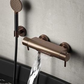 Hotbath Cobber B021 badthermostaat met cascade uitloop
