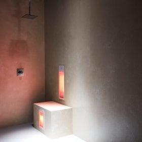 Sunshower Duo infra-rood paneel voor onder de douche, inbouw