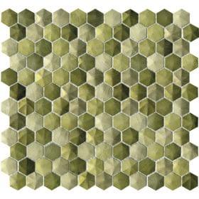 L'Antic Colonial Colors aluminium olive 28,5x30cm mozaïek 100203093