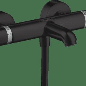 Hansgrohe Ecostat Comfort, badthermostaat finish plus mat zwart 13114670