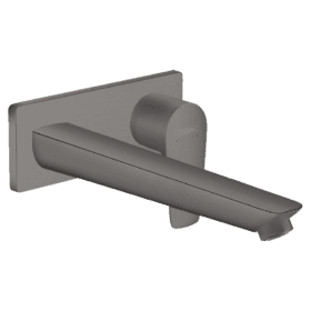 Hansgrohe Talis E, inbouw wastafelkraan afbouwdeel finish plus Brushed Black Chrome 71734340