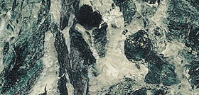 vtwonen Classic intens green dark glans 30x60cm vloertegel