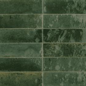 Piet Boon glaze tile green 6x24cm wand- en vloertegel