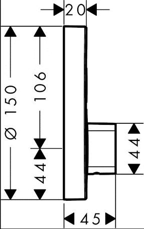 hgrohe afbouwdeel3