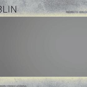 Martens Design Dublin 140x70cm met licht rondom en touch schakelaar