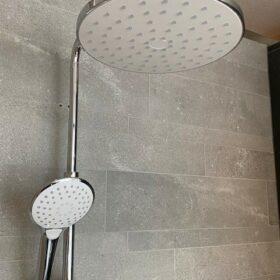 HSK showerpipe chroom